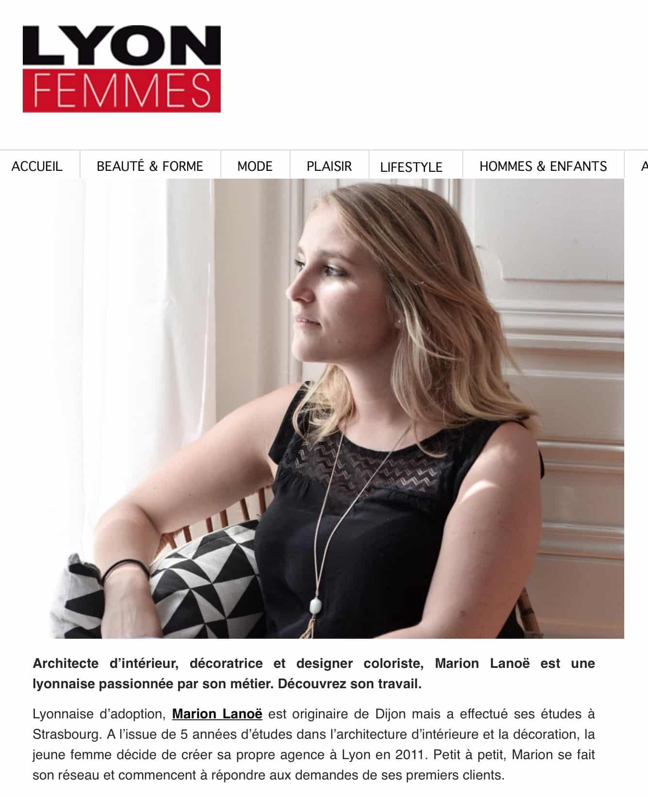 Good Lyon Femmes Juin With Marion Lano Architecte D Interieur